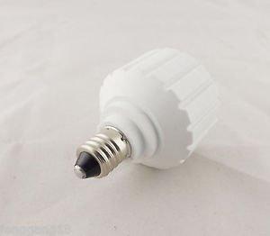 E11 To GU10 Socket Base LED Halogen CFL Light Bulb Lamp Adapter Converter Holder