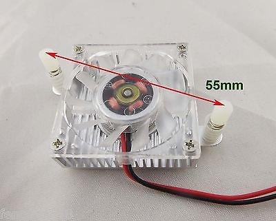 40mm Aluminum Cooler Cooling Fan Heatsink PC CPU VGA Video Card Hole Size 55mm