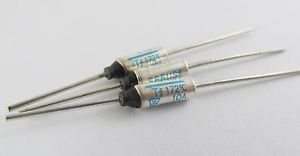 10Pcs Microtemp Thermal Fuse 172°C 172 Degree TF Cutoff SF169E 10A AC 250V New