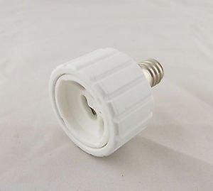 E12 To GU10 Socket Base LED Halogen CFL Light Bulb Lamp Adapter Converter Holder