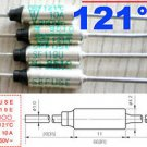1 Pcs Microtemp Thermal Fuse 121°C 121 Degree TF Cutoff SF119E 10A AC 250V New