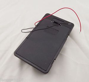 1pc Hold 6 AA 6X AA Battery Holder Box Case 9V With Cover Lead Wire