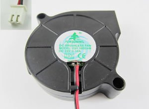 1pcs Brushless DC Cooling Blower Fan 5015 FSY50S24M DC 24V 50 x 50 x 15mm 2 Pin