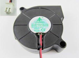1pcs Brushless DC Cooling Blower Fan 5015 FSY50S24M DC 24V 50 x 50 x 15mm 2 Pin