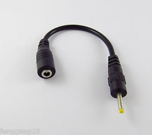 DC Power Cable 3.5x 1.35mm Female Jack To 2.5x 0.7mm Male Plug Connector Adapter
