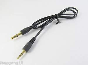 3.5mm Male To 2.5mm Male Stereo Audio Convertor Extension Cable Cord 2feet Gold
