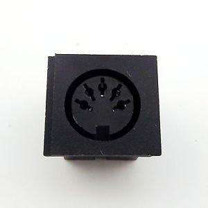 1pcs DIN 5 Pin Circular Jack Female Panel Mount PCB Mount Connector Adapter