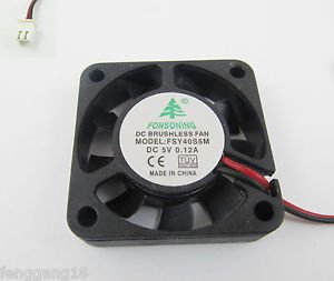 1pcs Brushless DC Cooling Fan 9 Blades 5V 40mm x 40mm x 10mm 4010S5M 4010