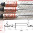10Pcs Microtemp Thermal Fuse 216°C 216 Degree TF Cutoff SF214E 10A AC 250V New