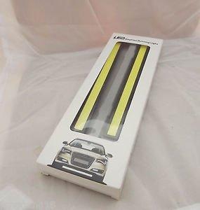 2x Super Bright White COB Car 12V LED Lights for DRL Fog Driving Lamp Waterproof