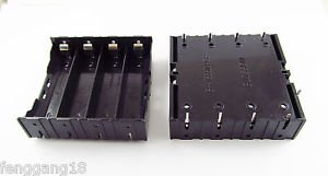Hold Four 4 Li-ion Lithium 18650 DIY Battery Box Holder Case With 8 Pins Contact