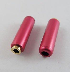 1x Red 3.5mm Female Socket 3 Pole Repair Audio Earphones TRS Connector Soldering
