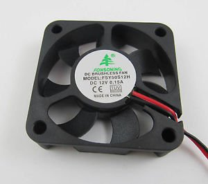 1pcs Brushless DC Cooling Fan 7 Blades DC 12V 50mm x 50mm x 10mm 5010 50S12M
