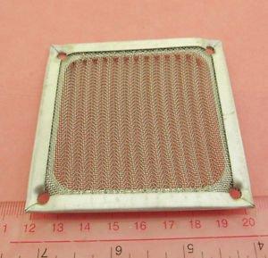 80mm 8cm Aluminum Dustproof Dust Mesh Grill Guard Filter for PC Case Cooling Fan