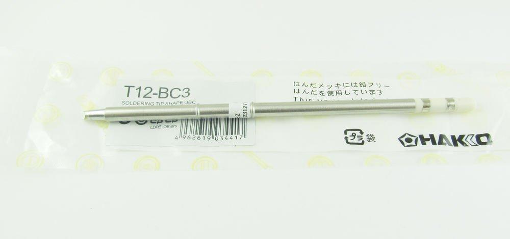 T12-BC3 Replace Soldering Solder Iron Tip For Hakko Shape BC3 PCB Repair Product