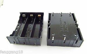 Hold Three 3 Li-ion lithium 18650 DIY Battery Box Holder Case W/ 6 Pins Contact