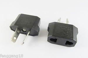 5x Travel Charger Wall AC Power Plug Adapter Converter US USA EU Europe To AU