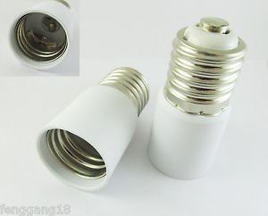 E40 To E40 Socket Base LED Halogen CFL Light Bulb Lamp Extend Adapter Converter