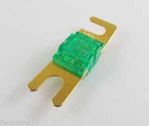 1pcs Gold Plated Car Audio AFS Mini ANL Fuse Auto Stud Fuses 32V 30A 30AMP