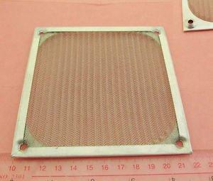 1x 120mm Aluminum Dustproof Dust Mesh Grill Guard Filter for PC Case Cooling Fan