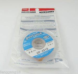 1pcs New Goot Wick Desoldering Soldering Remover CP-2515 CP 2515 2.5mm x 1.5mm