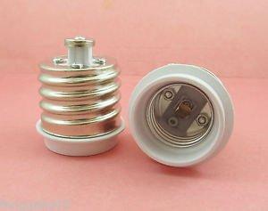 E40 to E27 Socket Base LED Halogen CFL Light Bulb Lamp Adapter Converter Holder