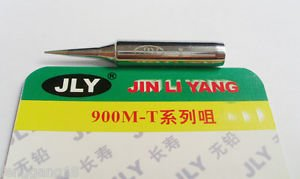 JLY Replace Soldering Solder Leader-Free Solder Iron Tip For Hakko 936 900M-T-I