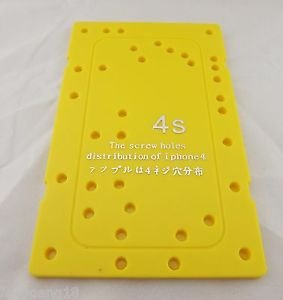 Replacement Screw Hole Distribution Location Plate Memory Board For iPhone 4S