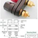 2x Gold Amplifier Terminal Binding Post Banana Plug Female Jack Aadapter 41x34mm