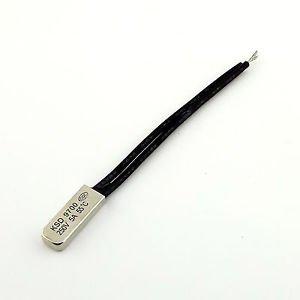 1Pcs KSD9700 Bimetal Temperature Switch Thermostat Control 55� N.C. 250V 5A New