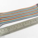2.54mm 1P to 1P Male to Female Pin Header 20cm Dupont Wire Colorful Cable 40pcs