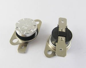10 Pcs KSD301 Temperature Switch Thermostat 45°C 45 Degree N.O. Normal Open New