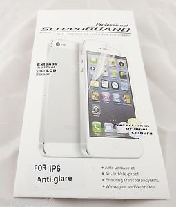 1x Anti Glare Matte Front Screen Protector Film Skin Cover For iPhone 6 4.7""