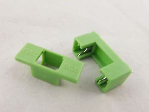 1pcs Fuse Holder DIP PTF-7 6.3A 1.6W 250V Used for 5x20mm Green Color