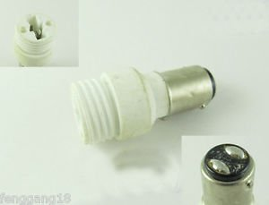 BA15D to G9 Socket Base LED Halogen CFL Light Bulb Lamp Adapter Converter Holder