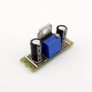 1x LM317 DC-DC Step Down Buck Power Module Adjustable Board 63-4.5V To 60-1.25V