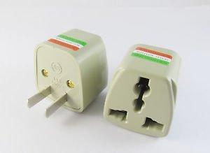 Universal US UK EURO AU TO US Travel Wall AC Power Plug Adapter Converter 10A