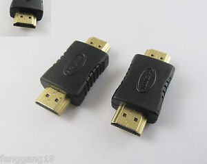 10pcs HDMI Male To Male Coupler Gender Extender Adapter Connector M/M HDTV 1080P
