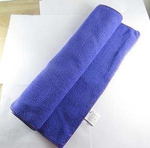Purple 75cmx35cm Microfiber Towel Cleaning Cloth Ultra Absorbent Car Micro Fiber