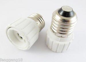 E27 To GZ10 Socket Base LED Halogen CFL Light Bulb Lamp Adapter Converter Holder