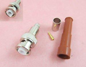 BNC Male High Voltage Power Audio Speaker RF Connector MHV 3000V RG59 RG62 RG140
