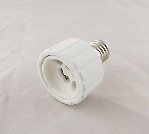 E17 To GU10 Socket Base LED Halogen CFL Light Bulb Lamp Adapter Converter Holder