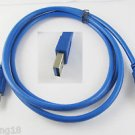 Premium Quality USB 3.0 A Male to USB 3.0 Male Extension Cable Blue 1.5m 4.8Gbps