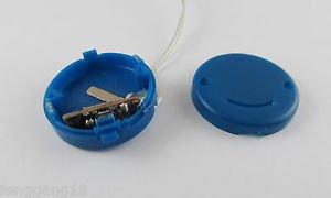 Blue CR2032 X2 Button Battery Holder Case Box Smile Flicker Flash String Light