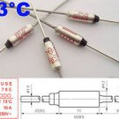 1Pcs Microtemp Thermal Fuse 73°C 73 Degree TF Cutoff SF70E 10A AC 250V New