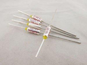 5pcs Microtemp Thermal Fuse 99°C 99 Degree TF Cutoff Cut-off 10A AC 250V New
