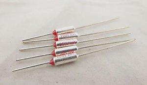 5pcs Microtemp Thermal Fuse 65°C 65 Degree TF Cutoff Cut-off 10A AC 250V New