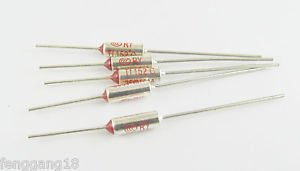 100x Microtemp Thermal Fuse 152°C 152 Degree TF Cutoff Cut-off 10A AC 250V New