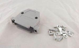 10pcs Plastic Hood Cover Backshell & Screws for D-Sub D-SUB DB25 25 Pin HD25 DIY