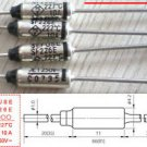 10Pcs Microtemp Thermal Fuse 227°C 227 Degree TF Cutoff SF226E 10A AC 250V New